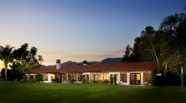 Southern California Homes Mediterranean Exterior Los