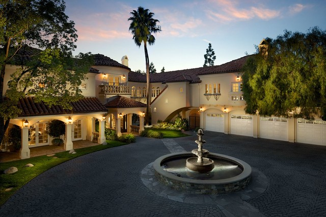 Southern california homes mediterranean exterior los for California los angeles houses