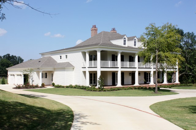 Southern charm traditional exterior other by bob for Bob chatham house plans