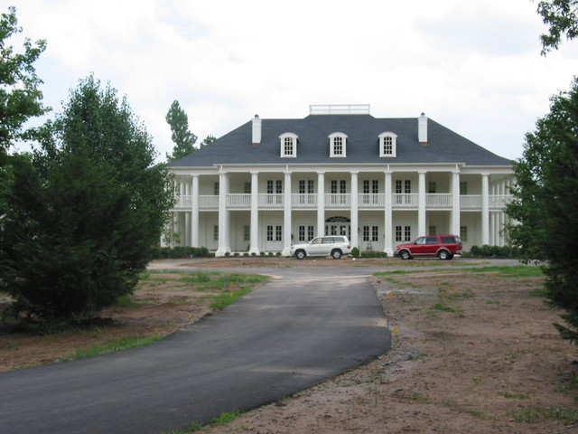 Southern Custom in Little Rock traditional-exterior