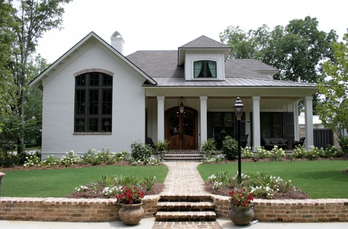 can you tell me what color the white exterior brick was painted. Black Bedroom Furniture Sets. Home Design Ideas