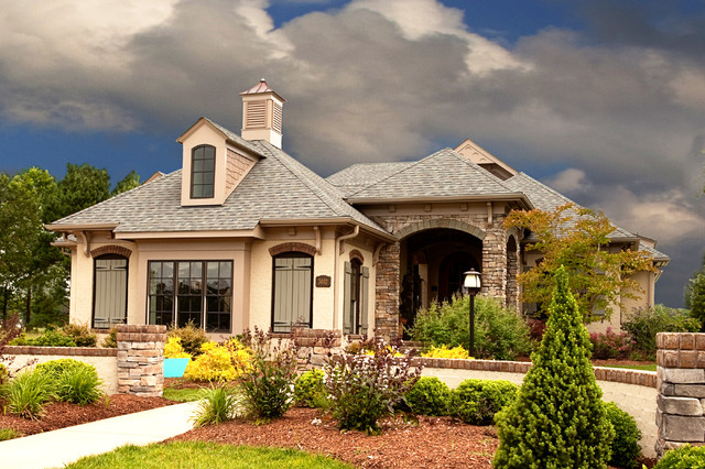 Southern Living Home   Falkirk Ridge Traditional Exterior