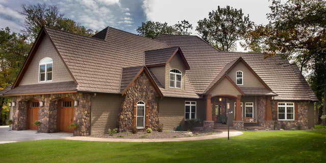Southern Minnesota Custom Home 1 Craftsman Exterior Other Metro By No