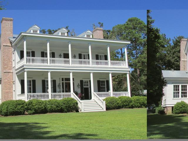 Southern Plantation Farmhouse Exterior