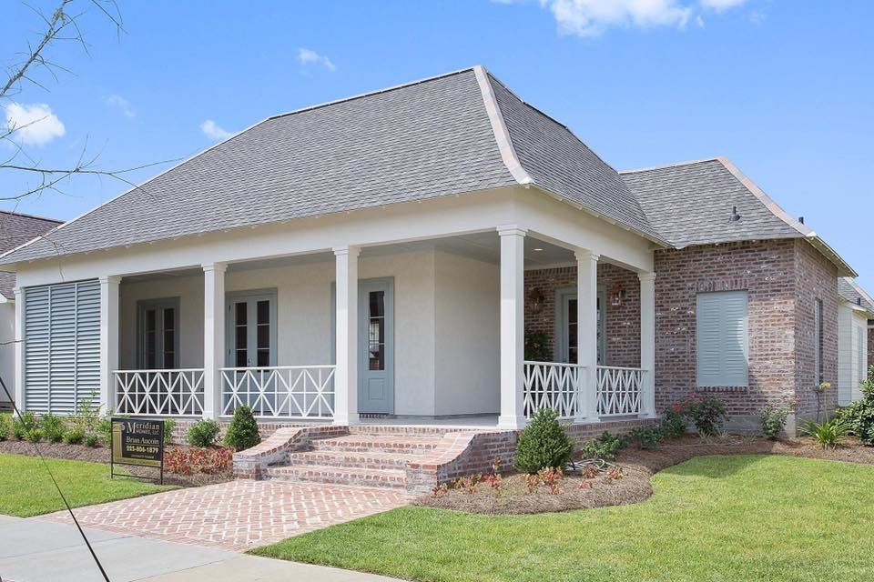 Southern Transitional Custom Home Build
