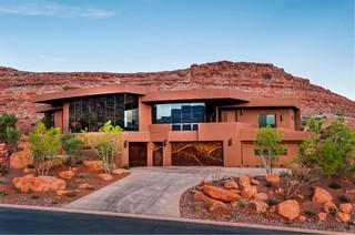 Southern Utah Contemporary Contemporary Exterior