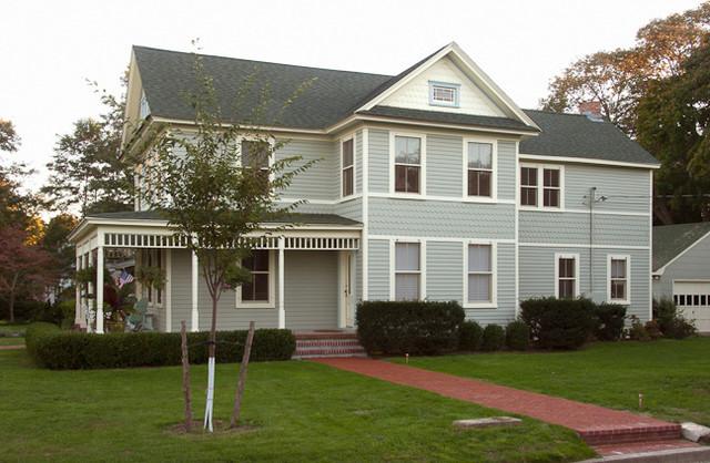 Southold Historic House Renovation exterior-elevation