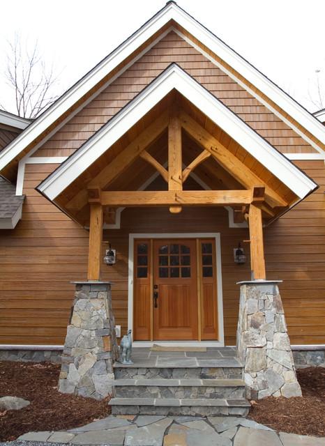 Southpeak timber frame exterior contemporary exterior for Timber frame exteriors
