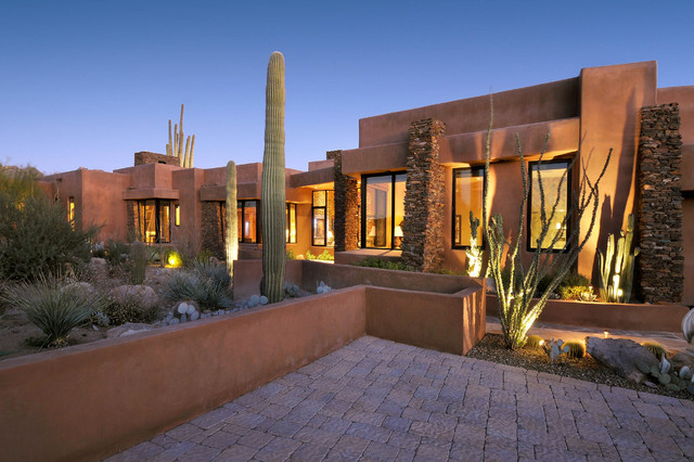 Southwest contemporary 645 for Southwest style home designs