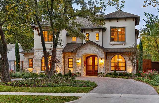Southwestern - Mediterranean - Exterior - dallas - by Veranda Fine Homes