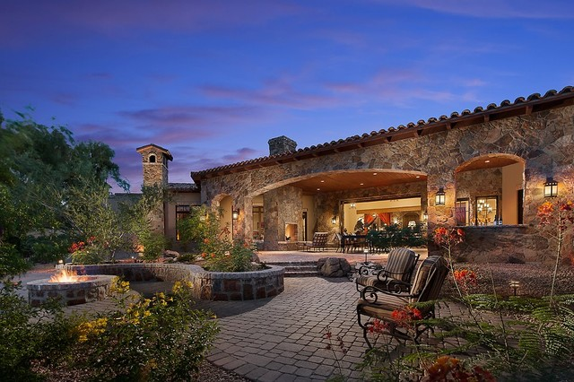 Southwestern Ranch Traditional Exterior Phoenix By
