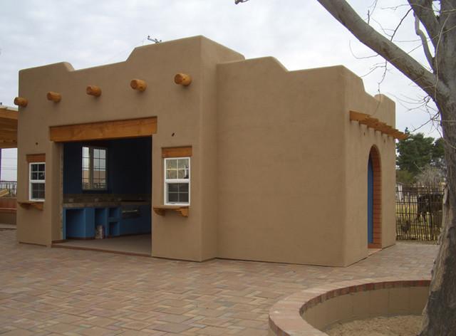 [Southwestern Style Cabana]  Buckeye, AZ traditional-exterior