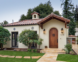 Spanish bungalow mediterranean exterior san for Spanish bungalow house plans