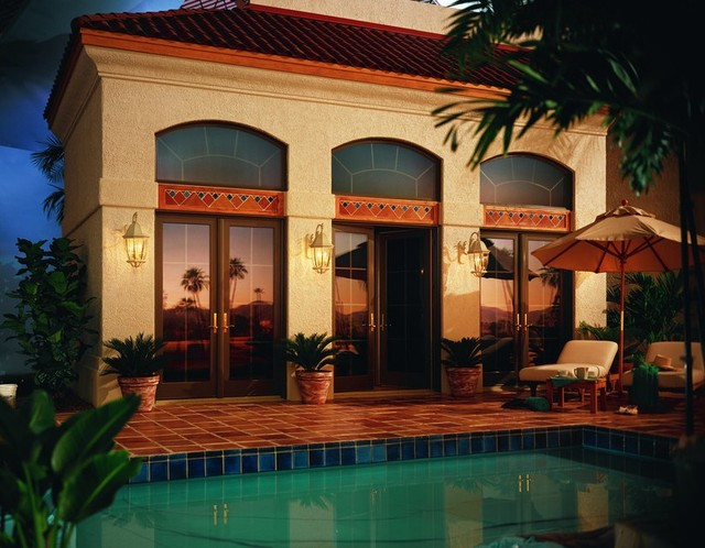 Spanish Colonial Home Style mediterranean-exterior