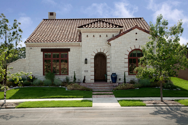 Spanish colonial luxury patio home mediterranean for Spanish style homes for sale in dallas tx