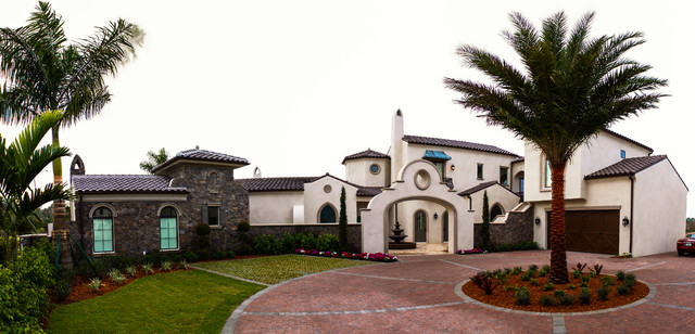 Spanish Colonial Mediterranean Exterior Miami By