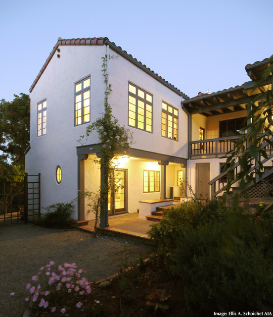 Spanish Colonial Architecture: Spanish Colonial Revival- Sympathetic Addition- 05343