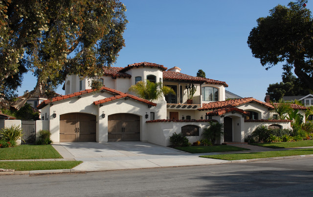 Spanish colonial style homes exterior san diego by for Spanish colonial home designs