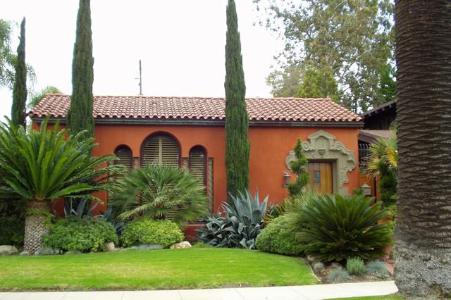 Spanish Eclectic Mediterranean Exterior Los Angeles