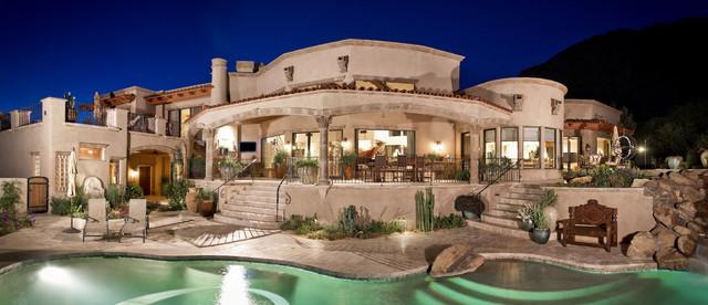 Spanish Hacienda Mediterranean Exterior Phoenix By