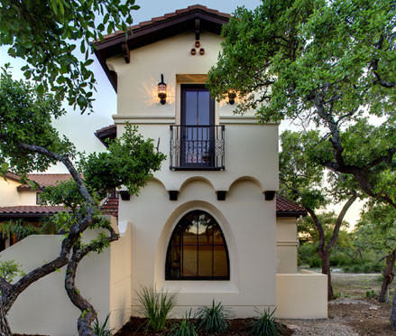 Small spanish style homes google search home design for Spanish hacienda style