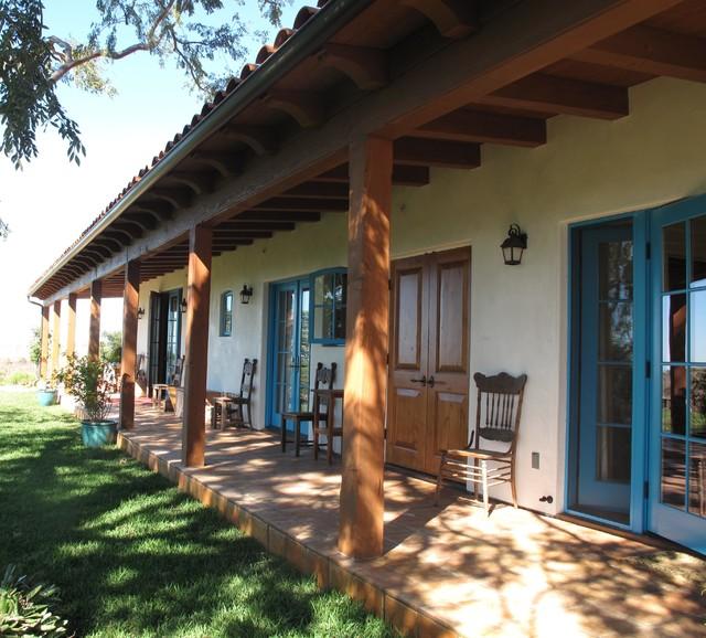 Spanish Hacienda Homestead Southwestern Exterior