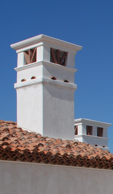 Chimney Cap Design : Spanish oaks chimney