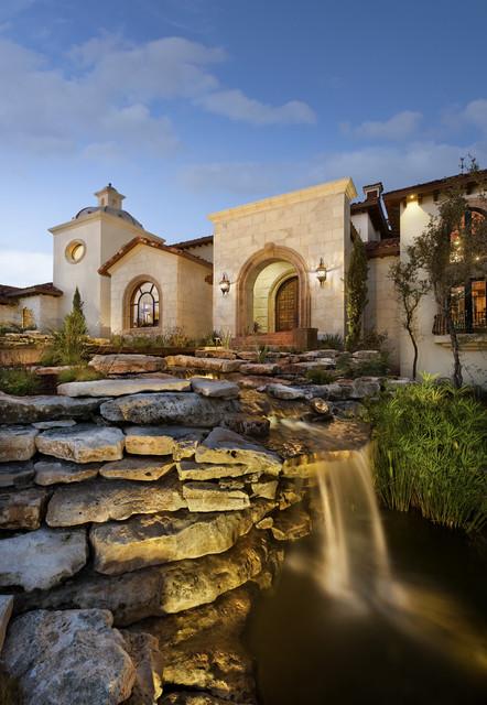 Spanish Oaks Hacienda mediterranean-exterior