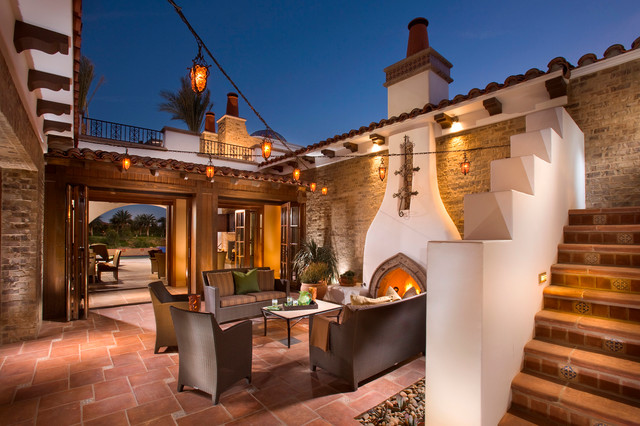 Mexican Style besides Bali House Tropical Patio Hawaii besides Hacienda Guanajuato Mexico furthermore Pole Barn House Interior Designs as well Hope Ranch Spanish Style Custom Home Hall Mediterranean Hall Santa Barbara. on hacienda style kitchens
