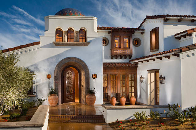 Spanish Revival Andalusia Architecture Mediterranean