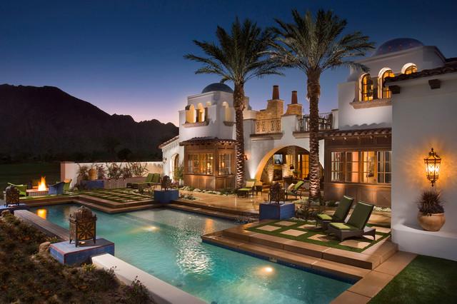 spanish revival, andalusia architecture - mediterranean - exterior