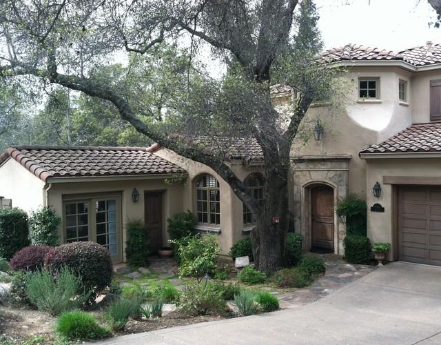Spanish revival residence mediterranean exterior for Spanish revival exterior paint colors