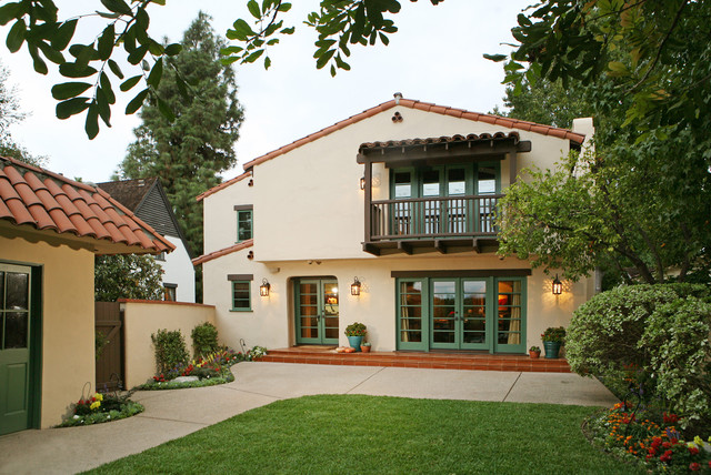 Spanish Revival Restoration - Mediterranean - Exterior - other metro ...