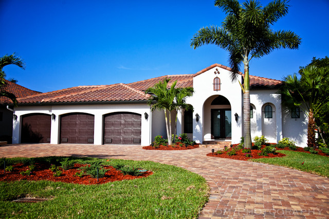 spanish style outdoor entry home design inside