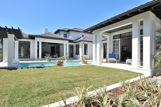 Spice bay british west indies traditional exterior for British west indies house plans