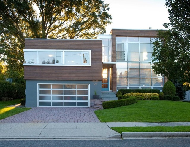 Split Level Conversion Modern Exterior New York By