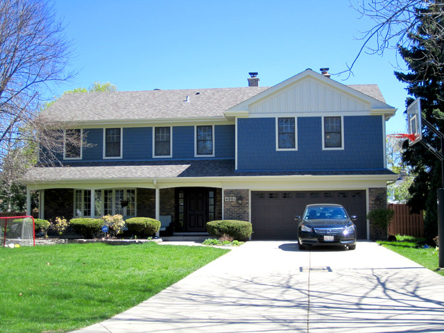 Split Level Style Home Western Springs Il In James