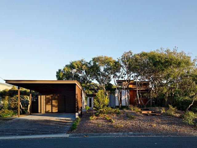 Exterior Sunshine Coast Spoonbill House, Peregian Beach, Sunshine Coast, Queensland contemporary-exterior