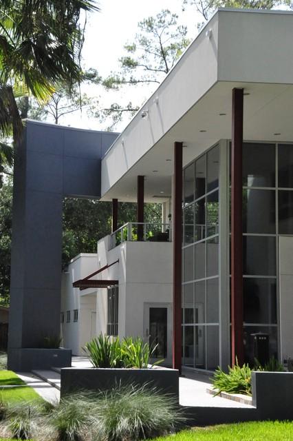 Spring Branch Residence contemporary-exterior