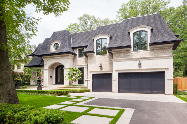 Amazing Spring Road Transitional Exterior