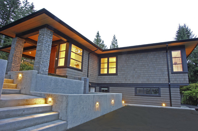 St. Andrews Renovation - Contemporary - Exterior - Vancouver - by ...