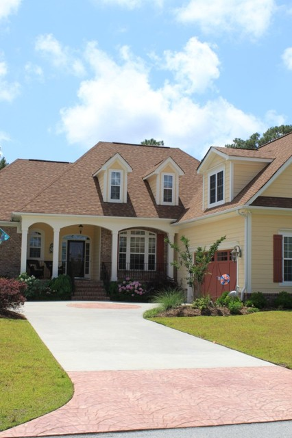 St. James Homes traditional-exterior