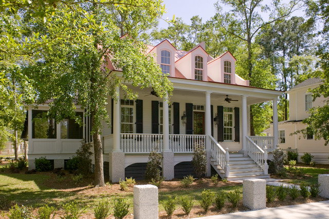 St phillips place traditional exterior charleston for Charleston home plans