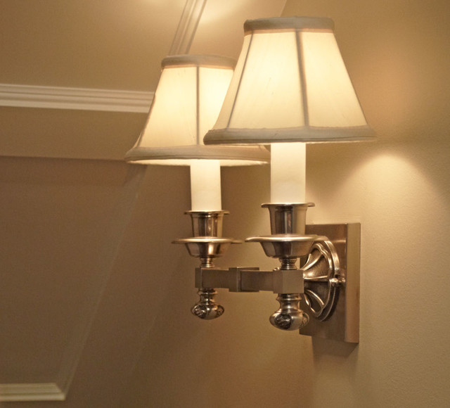 Wall Sconces Staircase : Stair Lighting - Traditional - chicago - by Brass Light Gallery