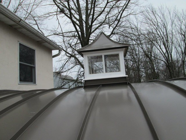 Standing Seam Metal Roofing contemporary-exterior