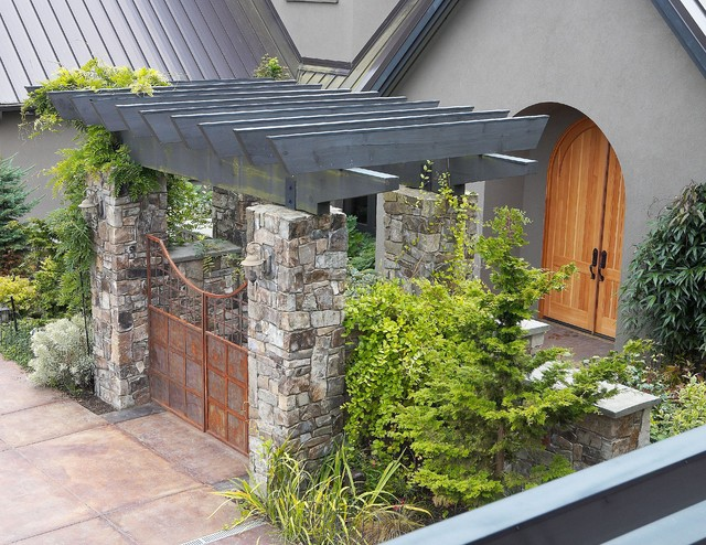Stanwood residence traditional exterior seattle by for Dan nelson architect