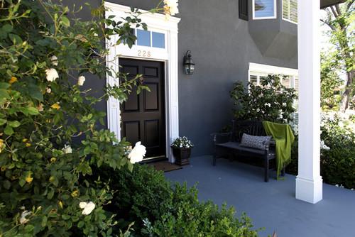 Strange Black Houses Home Exterior Paint Ideas Largest Home Design Picture Inspirations Pitcheantrous