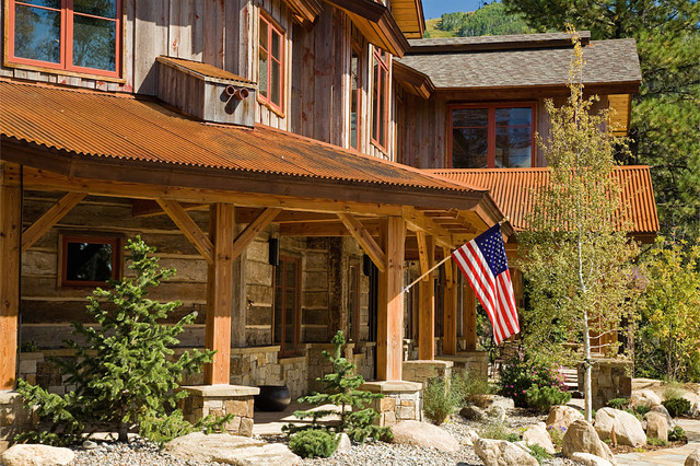 Steamboat Storm Meadow Drive Mountain/Asian Fusion rustic-exterior