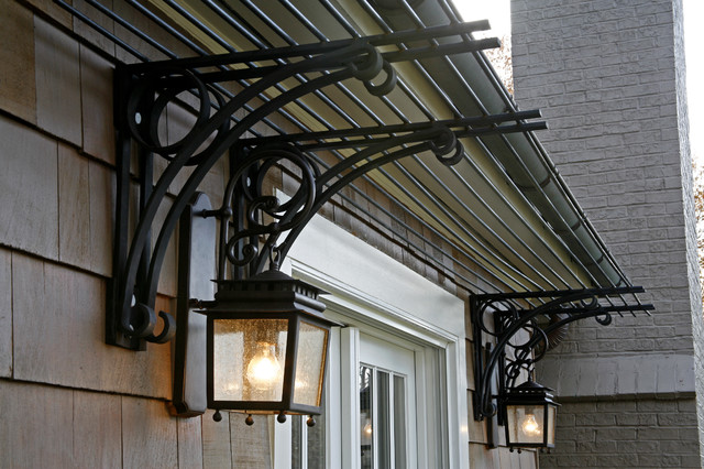 Steel Trellis Traditional Exterior Baltimore By