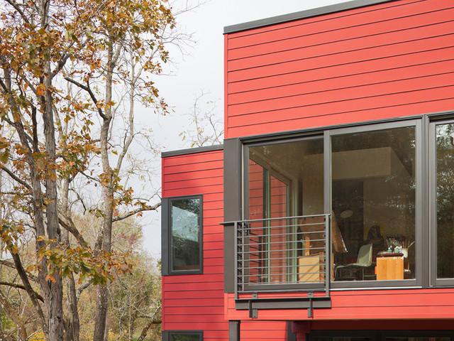 Stockton LEED For Homes Residence modern-exterior